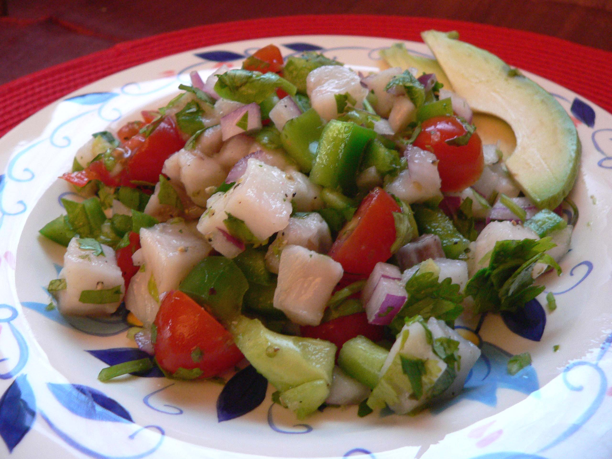 Mexican Ceviche | A Ginger in the Kitchen