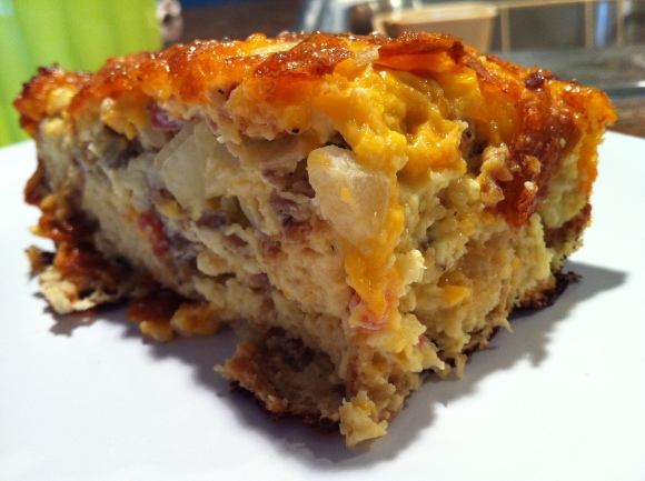 Cheesy Egg Bake