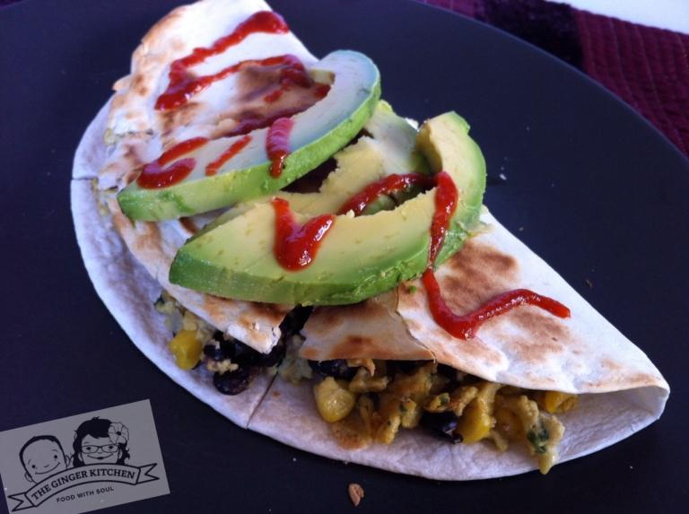 Breakfast Quesadilla