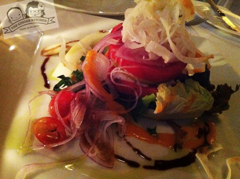Heirloom Tomato Vernale Salad