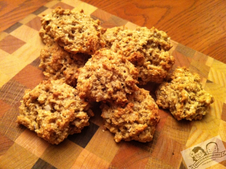 Banana Oatmeal Coconut cookie