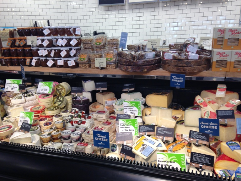 Earth Fare offers a vast selection of natural and organic cheeses.