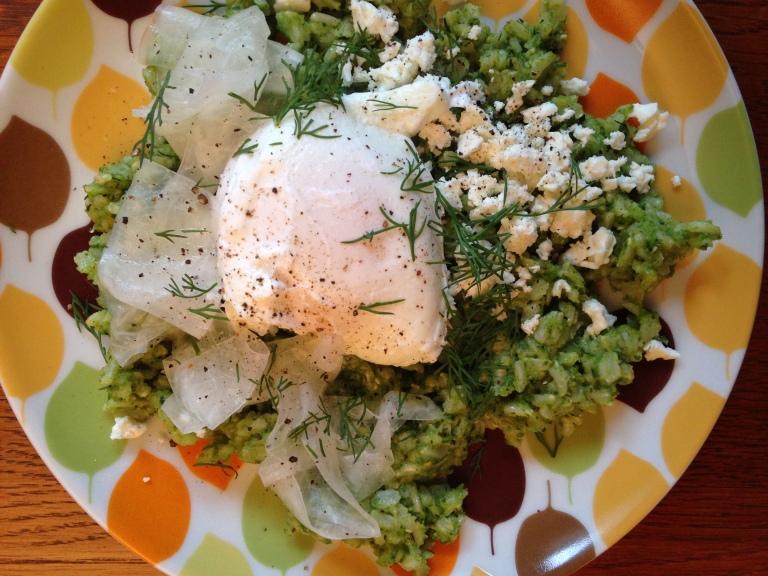 Kale Pesto Rice
